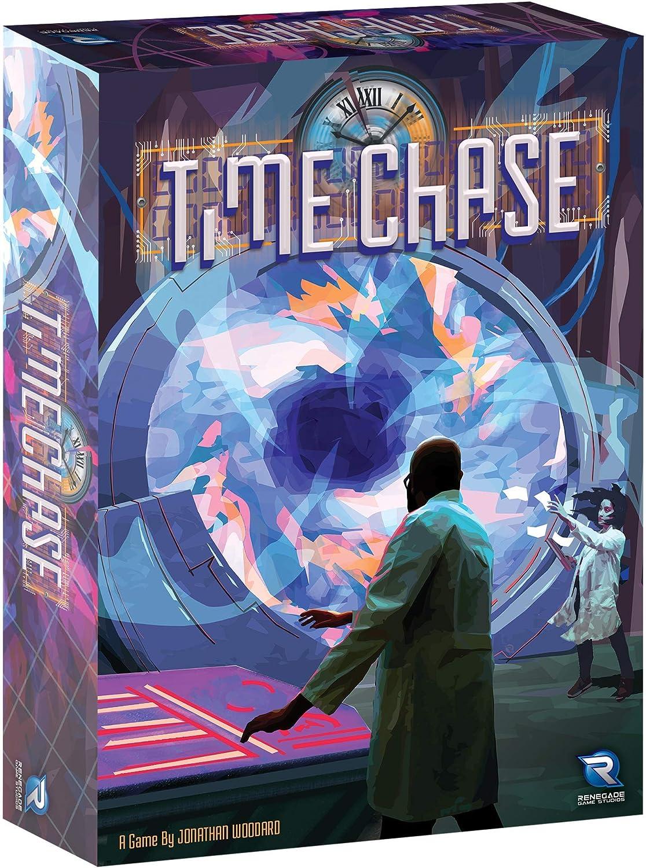 Renegade Game Studios 2024 Time Chase - Juego de Mesa (Contenido en alemán): Amazon.es: Juguetes y juegos