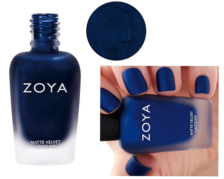 Amazon.com: Zoya Matte Nail Polish Velvet Limit Edition (Yves ...