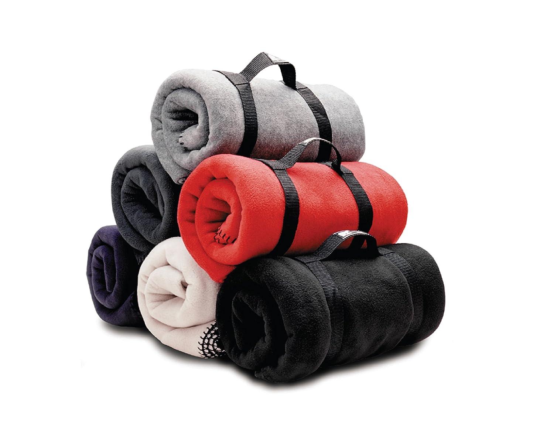 ホワイトBear Clothing Co。Heavyweight Fleece Throw Blanket 50