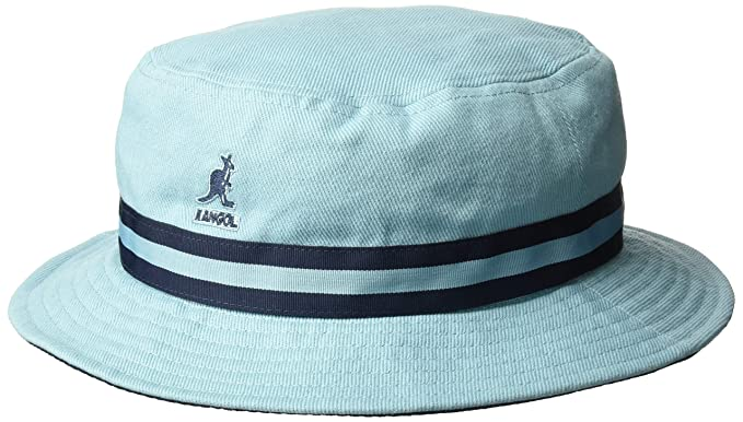 892ecaa57b5 Kangol Men s Stripe Lahinch Bucket Hat at Amazon Men s Clothing store