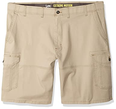 Lee Mens Big /& Tall Performance Series Extreme Comfort Cargo Short Cargo Shorts