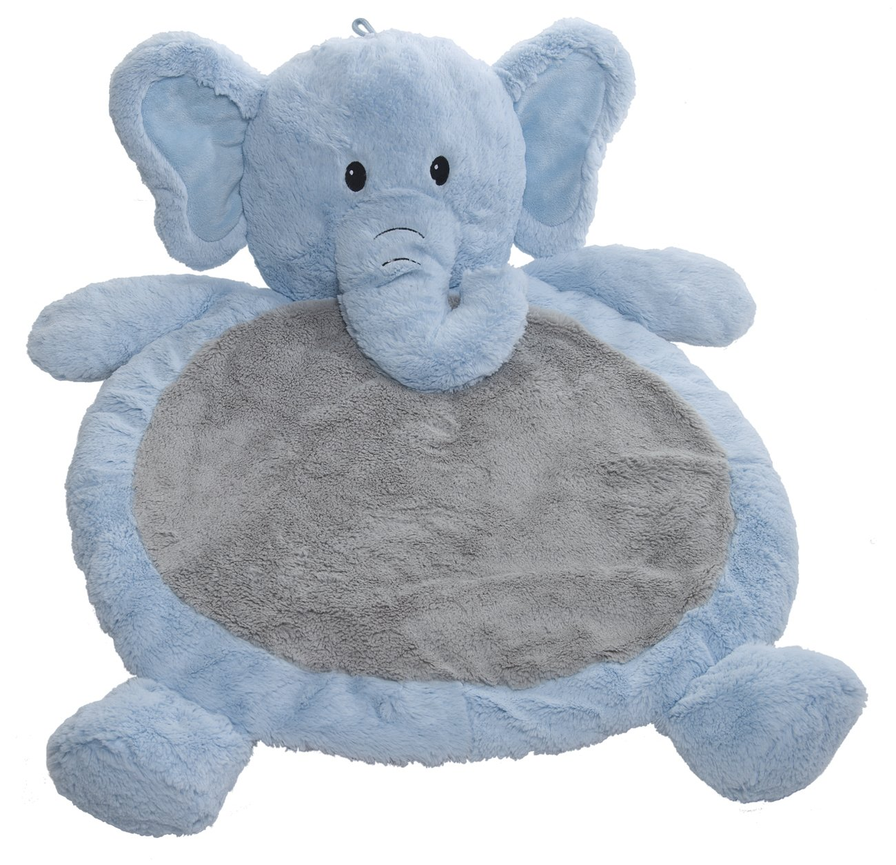 Mary Meyer Bestever Baby Mat, Blue Elephant