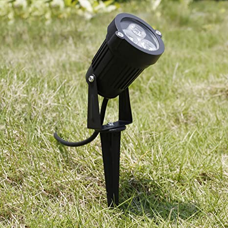 12V LED Lámpara de luz de punto Lámpara de foco Jardín exterior ...
