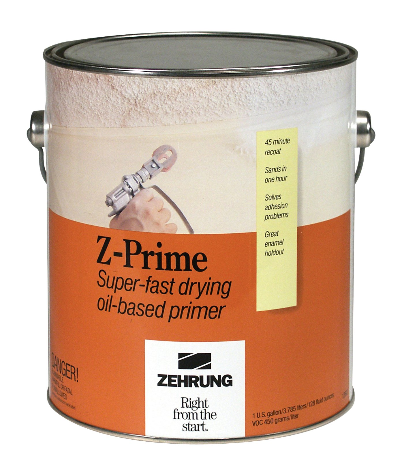 Zehrung 12601 Z-Prime Super-Fast Drying Oil Based Primer