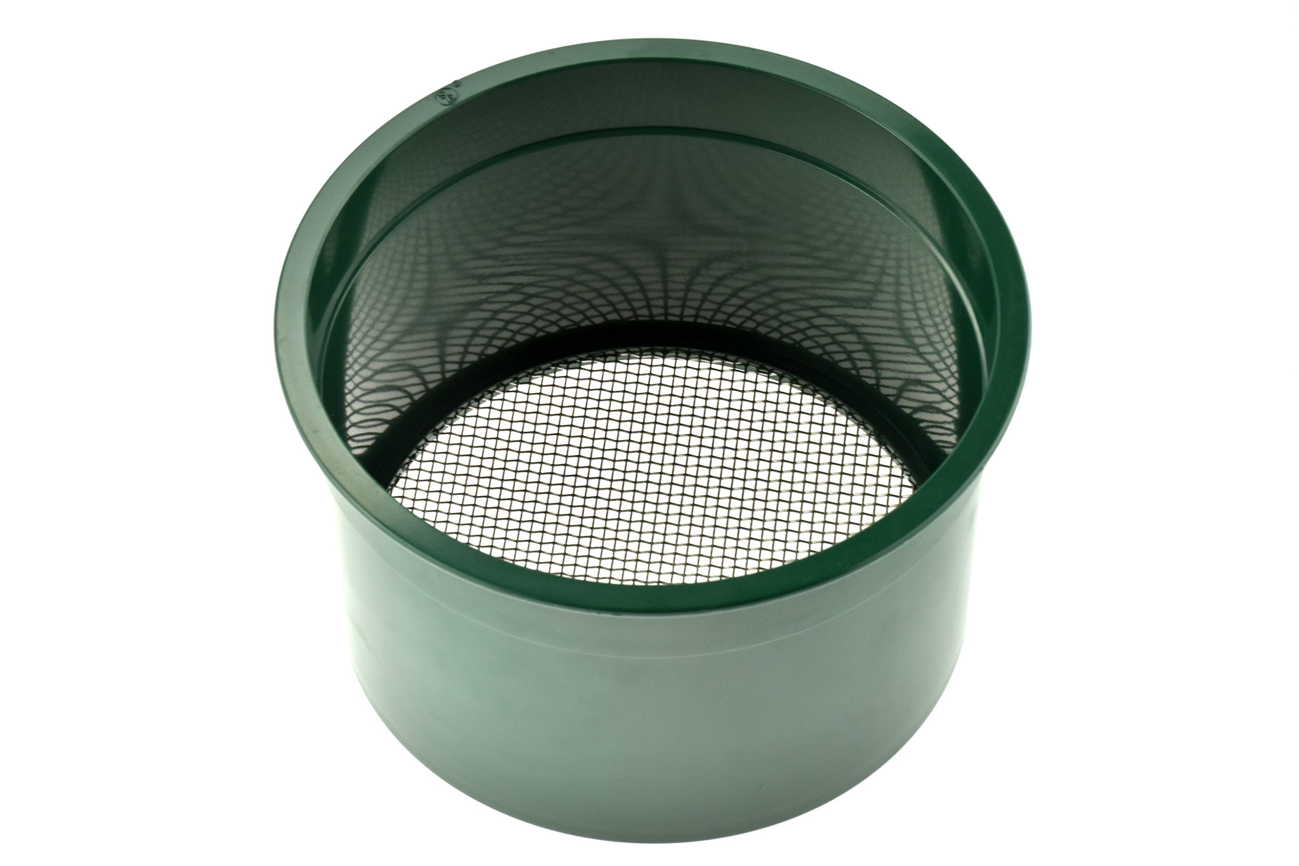 SE GP4-10 5.5'' Mini Stackable Sifting Pan, 10 Holes/Square Inch by SE (Image #1)