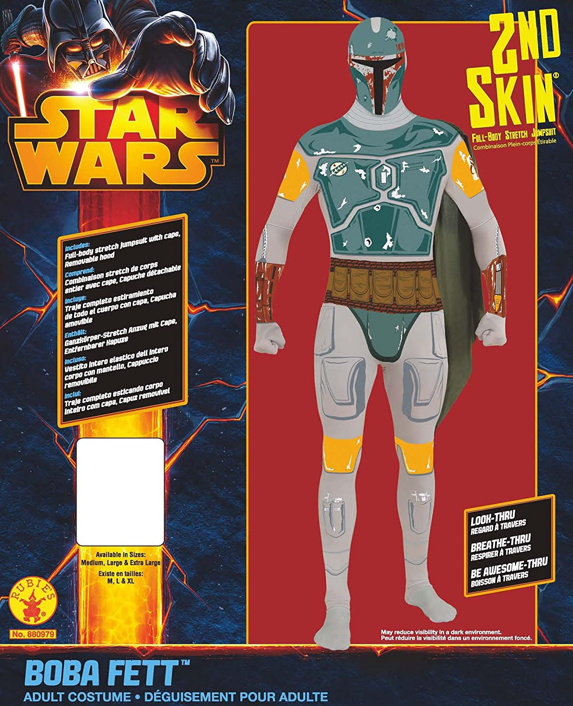 Amazon.com: Disfraz de Boba Fett de Star Wars para adulto ...