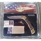 Buck 110 Folding Hunter Collectors Edition EDGE OF A LEGEND Tin