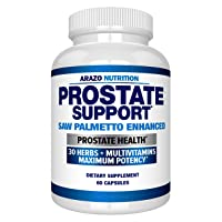 Prostate Supplement - Saw Palmetto + 30 Herbs - Reduce Frequent Urination, Remedy...