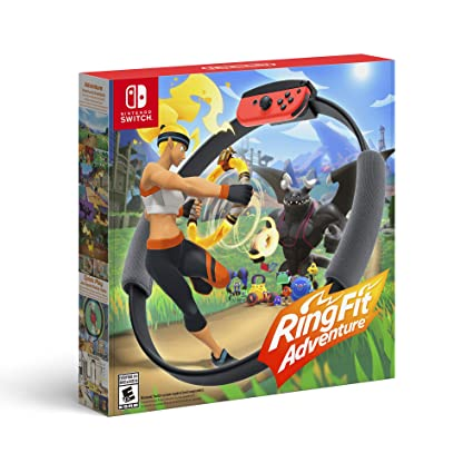 Ring Fit Adventure for Nintendo Switch [USA]: Amazon.es: Nintendo of America: Cine y Series TV