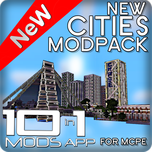 1 Plane (New Cities ModPack 10 in 1)