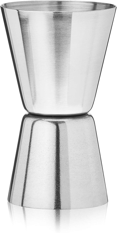 Kekailu Jigger,Stainless Steel Double Jigger Shot Glass Cocktail Bartender Mixer Measuring Cup