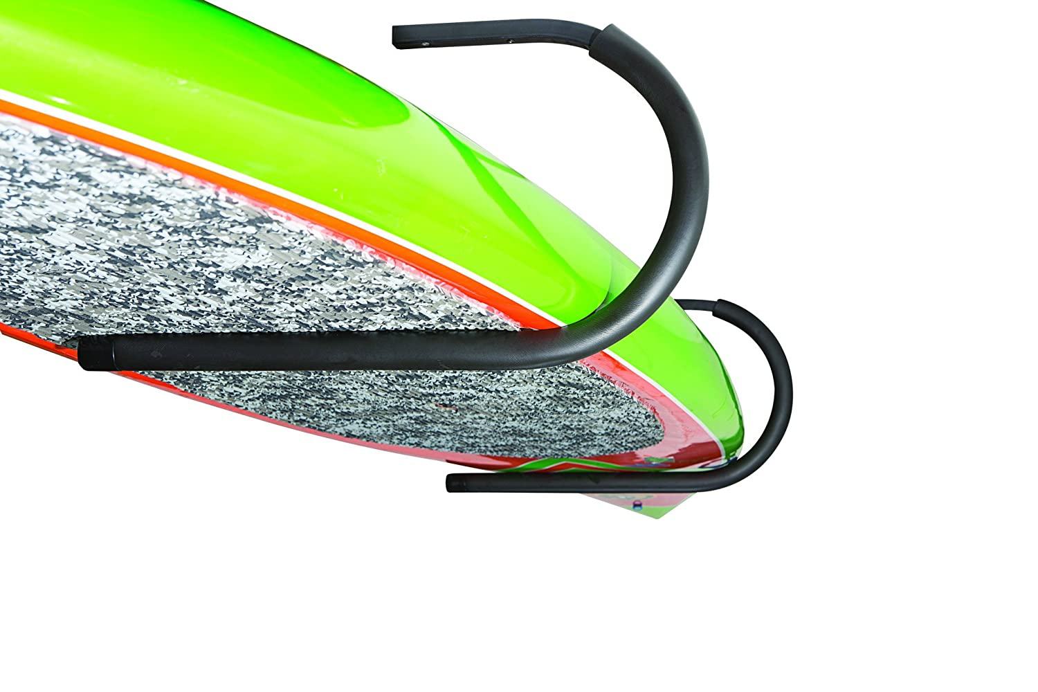COR Surf Stand up Paddle SUP Wall or Ceiling Rack Also Works with Longboards and Shortboard Surfboards. Weather Resistant Durable Protective Foam Rack-03