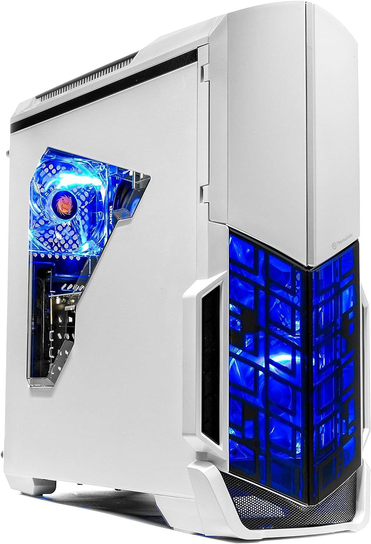 [Ryzen & GTX 1060 Edition] SkyTech Archangel Gaming Computer Desktop PC Ryzen 1200 3.1GHz Quad-Core, GTX 1060 3GB, 8GB DDR4 2400, 1TB HDD, 24X DVD, Wi-Fi USB, Windows 10 Home 64-bit (Renewed)