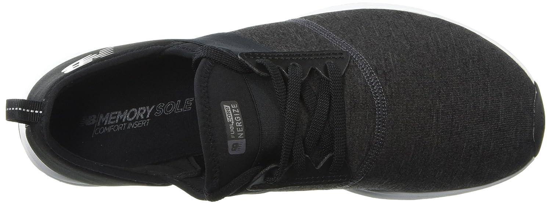 Amazon.com | New Balance Womens Nergize V1 FuelCore Sneaker, BLACK, 7.5 D US | Fitness & Cross-Training