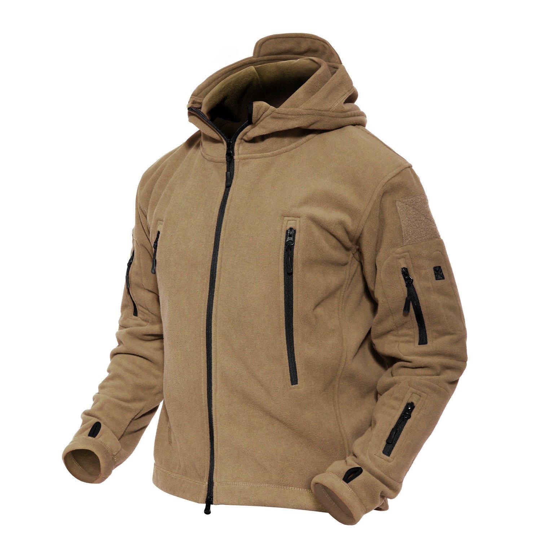 Magcomsen Men 's Windproof Warm Military Tactical Fleece Jacket MAGCOMSEN-04