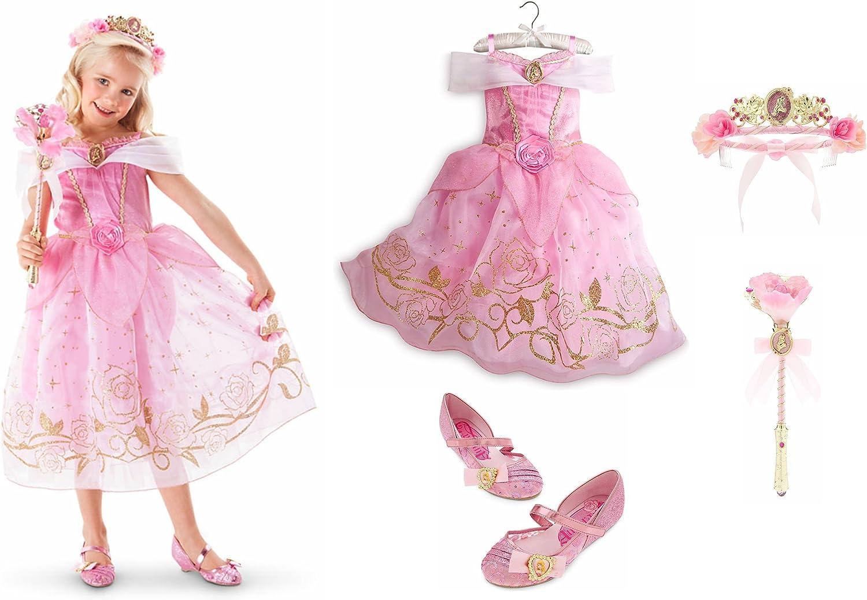 Disney Store Princess Belle Toddler Girl Costume Dress Shoes 9//10