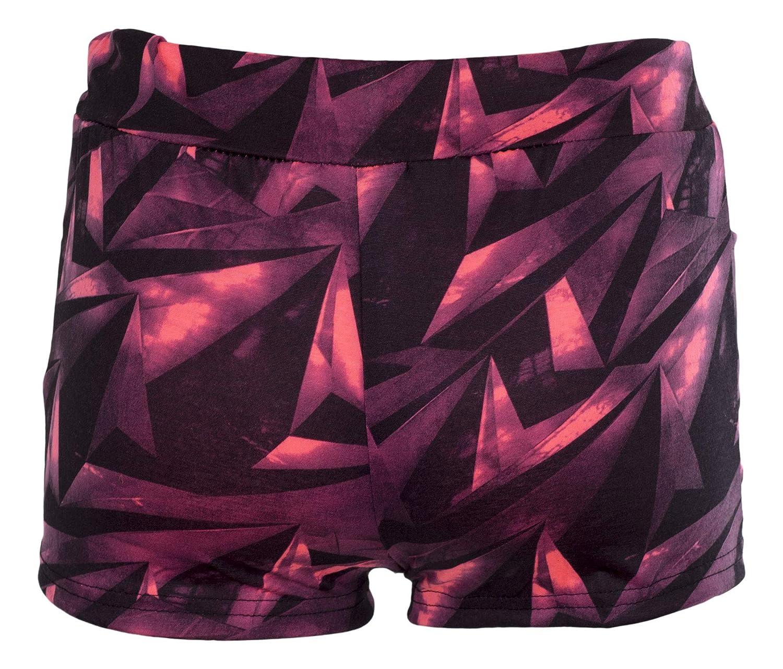 Noroze Girls Shorts Mesh Camo Specky Geo Blurry Floral Summer Beach Hot Pants