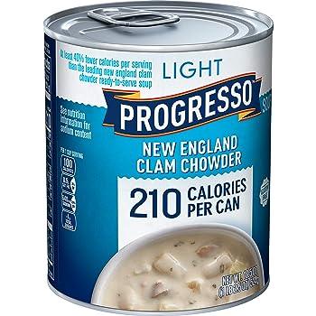 Progresso Light New England Canned Clam Chowder