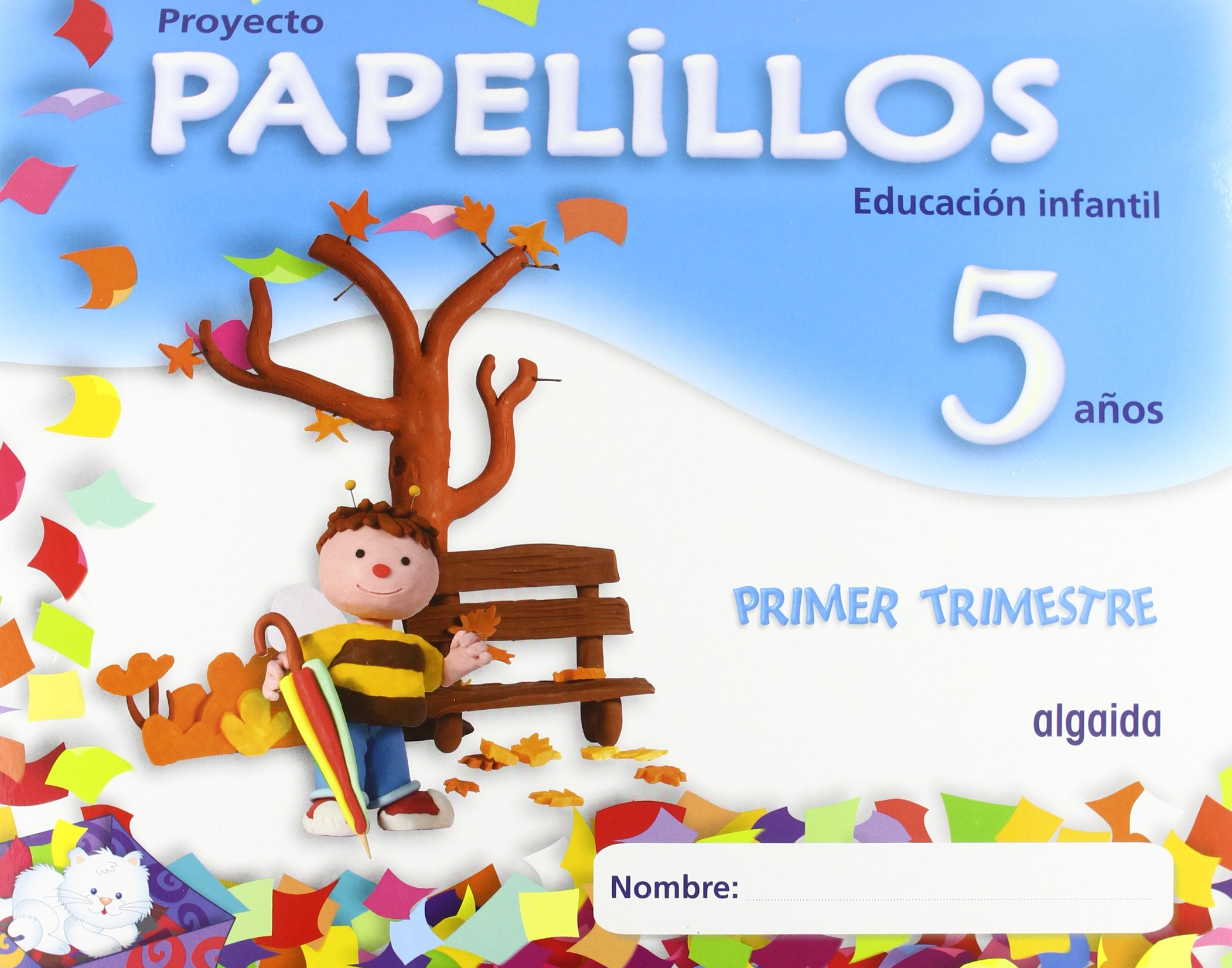 Papelillos 5 - 9788498772920: Amazon.es: María Dolores Campuzano Valiente:  Libros