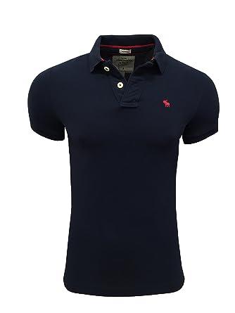 billiger Verkauf Keine Verkaufssteuer Geschäft Abercrombie & Fitch Herren Poloshirt Muscle Fit navy XL ...
