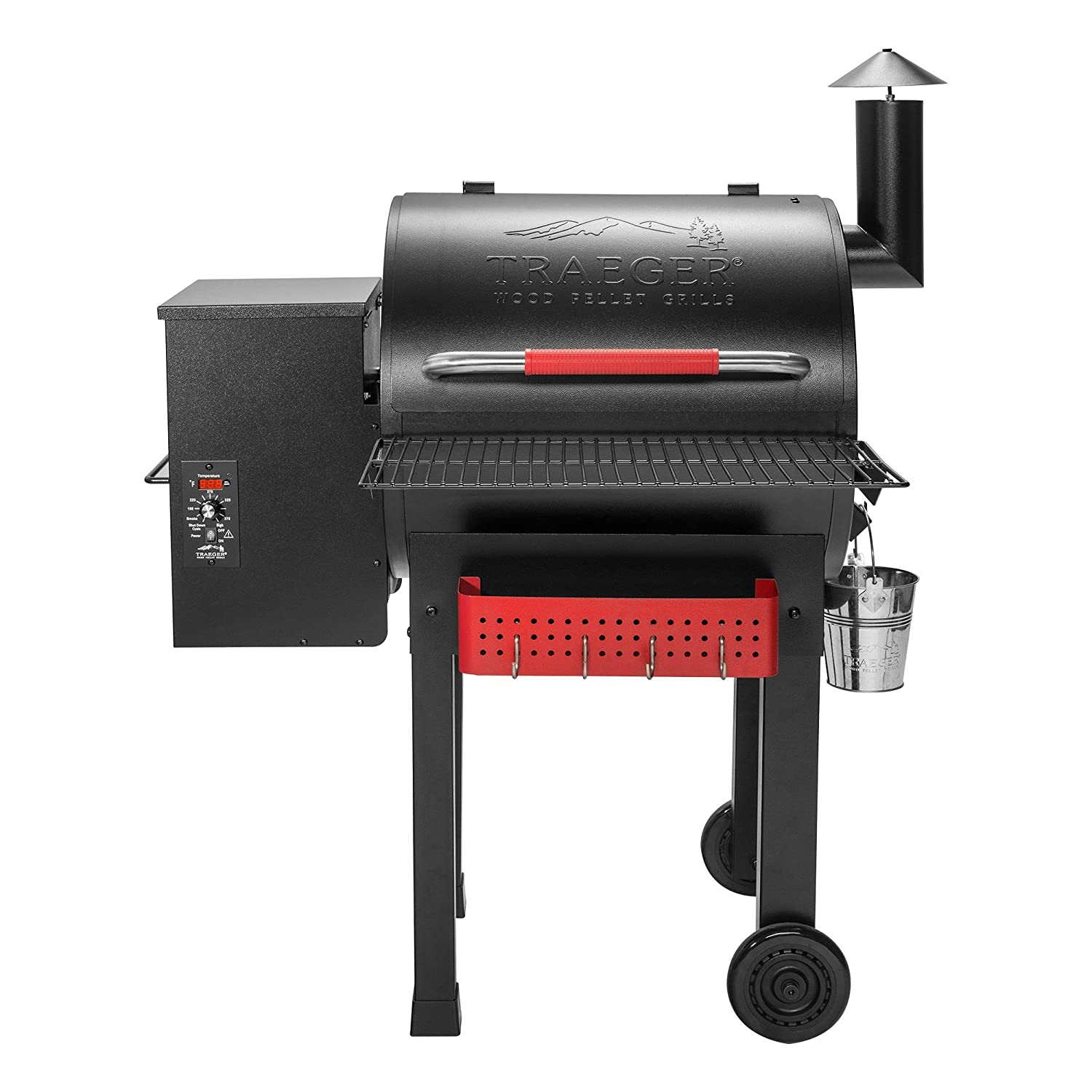 Traeger Grills TFB38TCA Renegade Elite Wood Pellet Grill and Smoker with Built In Tool Rack and Shelf - Grill, Smoke, Bake, Roast, Braise and BBQ