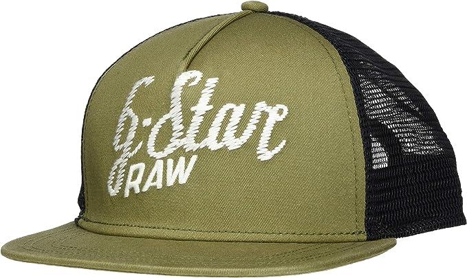 G-STAR RAW Cart Trucker Cap Gorra de béisbol, Verde (Asfalt 995 ...