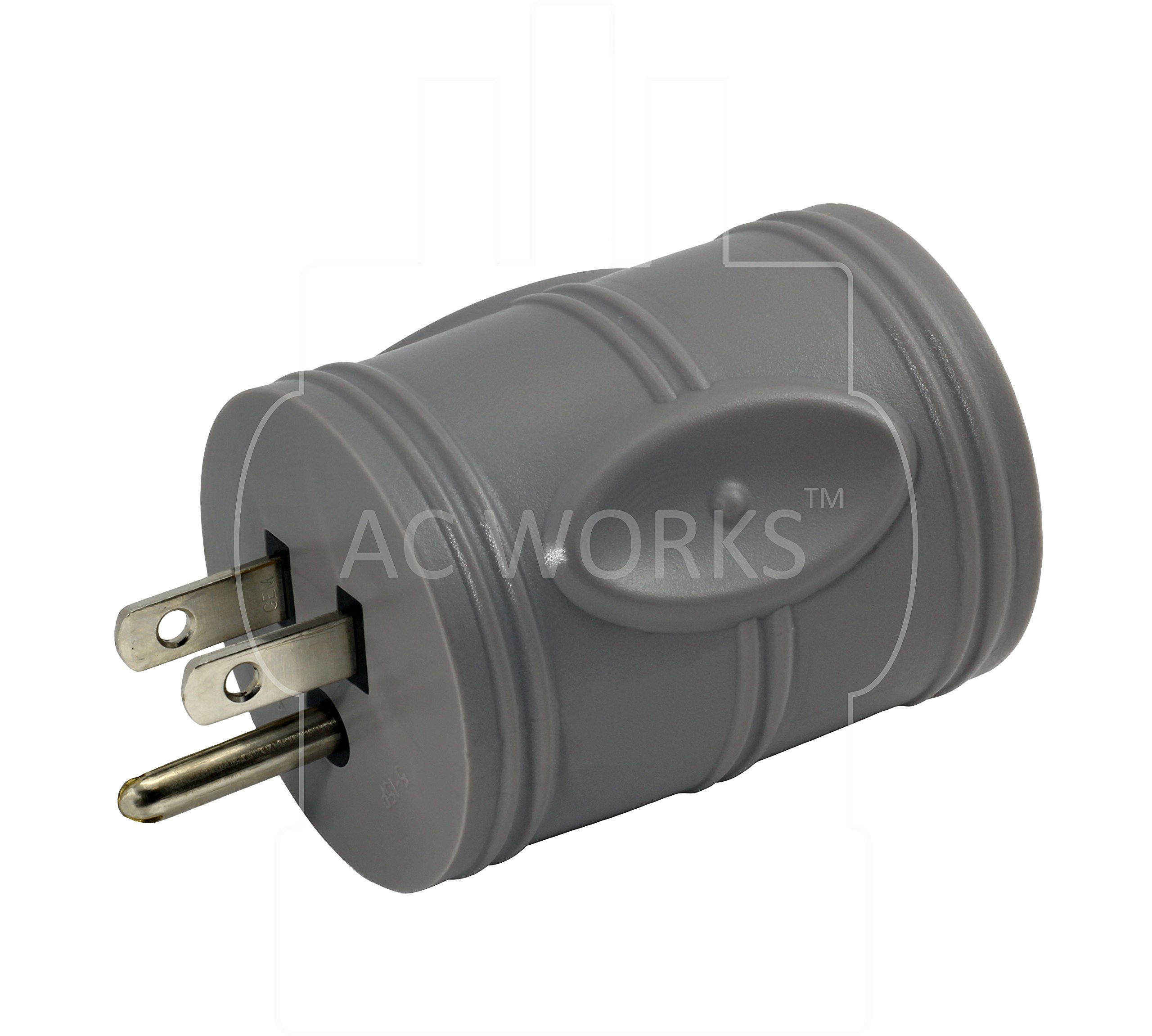 AC WORKS [EV515L630] EVSE Upgrade Electric Vehicle Charging Adapter 15Amp Household Plug to L6-30R Female Connector by AC WORKS (Image #3)