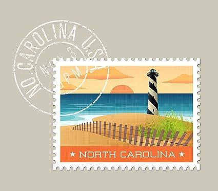 amazon com ezposterprints usa state postage stamp design posters
