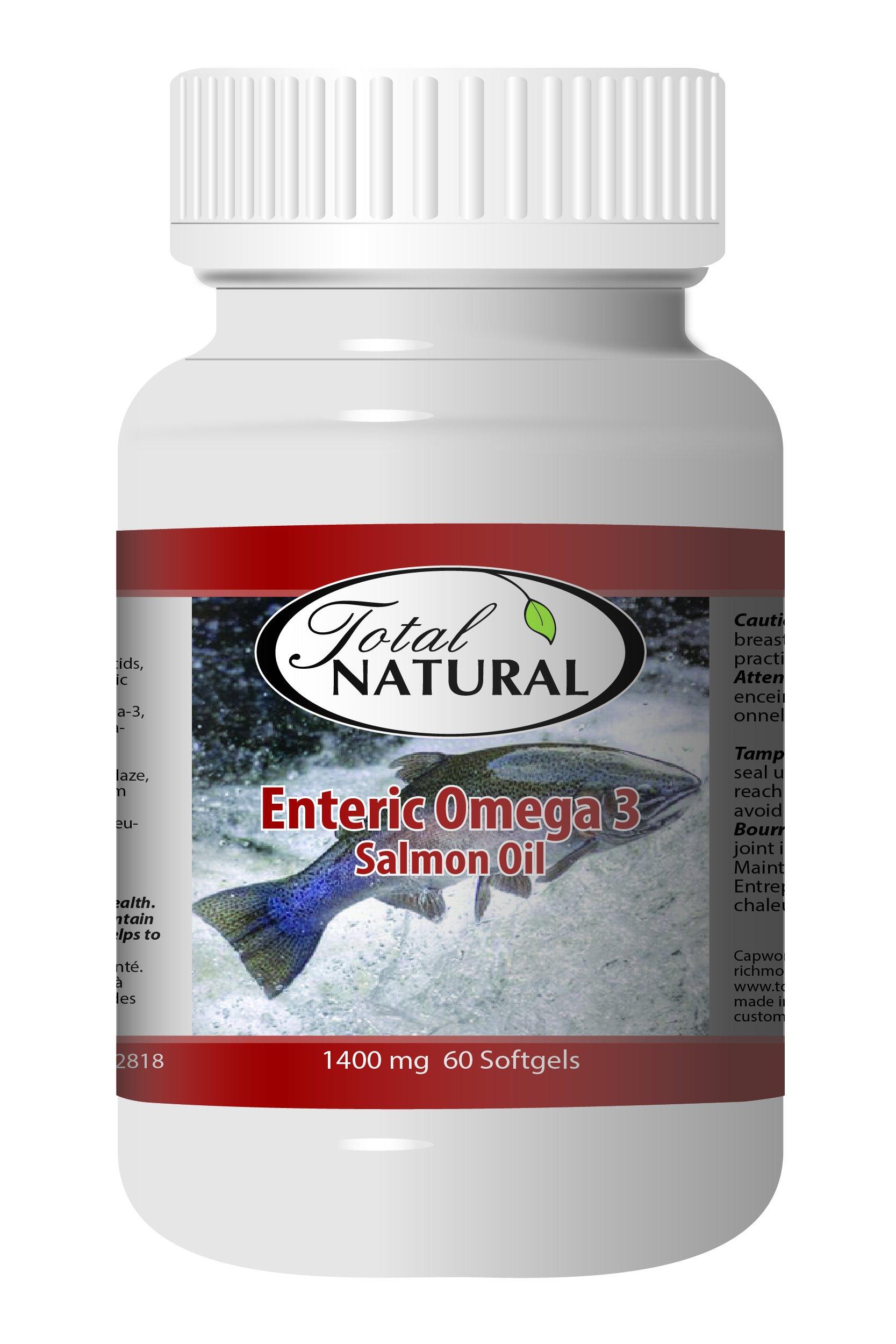 Enteric Omega 3 1400mg 60s - [12 bottles] Heart Health