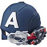 MARVEL AVENGERS - Captain America Scope Vision Helmet with Projectiles - Kids Dress Up Toys - Ages 3+