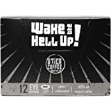 Wake The Hell Up Coffee, Ultra-Caffeinated Single Serve Capsules For Keurig K-Cup Brewers, 12 Count, 2.0 Compatible