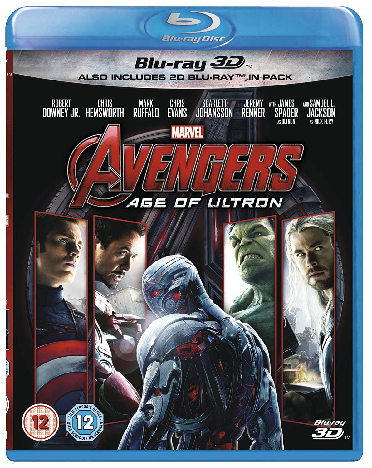 Avengers: Age of Ultron (3D) [Blu-ray]: Amazon.es: Robert Downey ...
