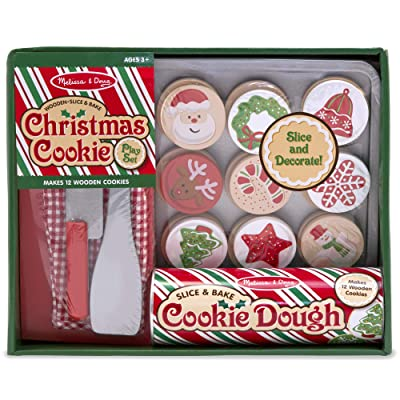 Melissa & Doug Slice & Bake Christmas Cookie Play Set: Melissa & Doug: Toys & Games