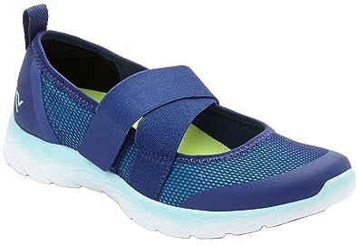 Vionic Brisk Pace- Womens Maryjane Sneakers Blue Teal - 5 Medium