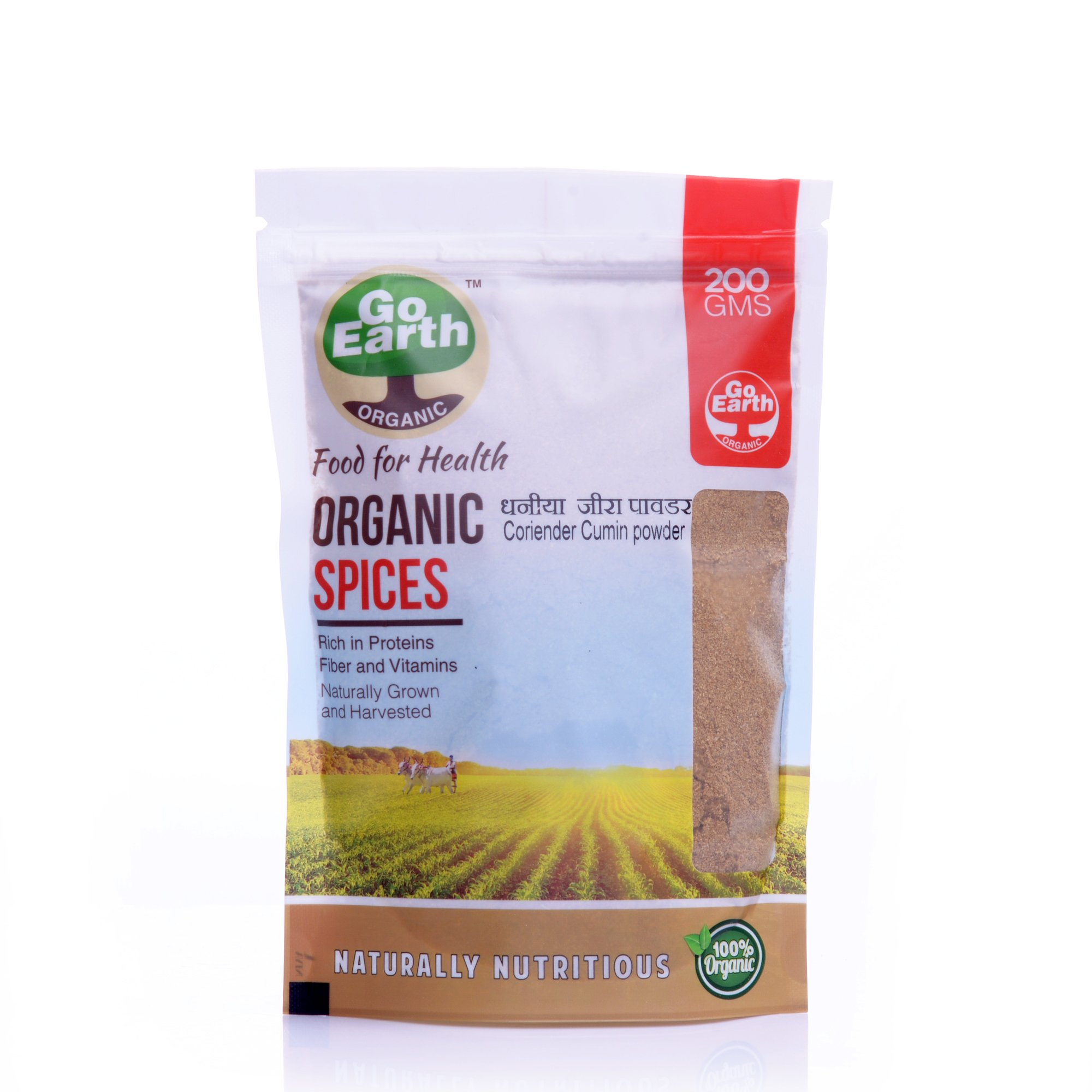 Go Earth Organic Coriander Cumin Powder