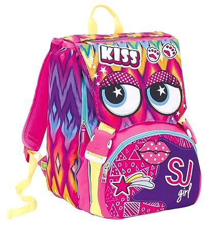 nuovi stili 405d3 8b377 SJ GANG Zaino Sdopp.Big Facce Da Children's Backpack, 41 cm ...