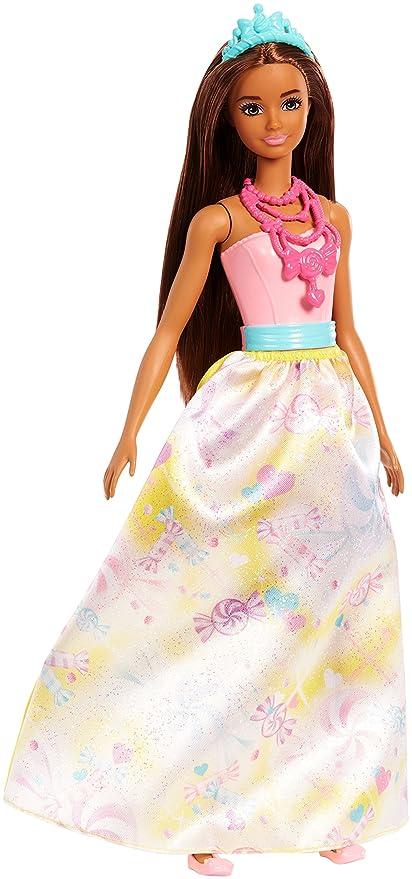 DreamtopiaMuñeca Barbie Princesa Fjc96 MorenaJuguete3 Añosmattel dxCeBro