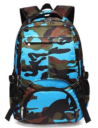 71730961e9 Boys Backpacks for Kids Kindergarten Camo Elementary School Bags Waterproof  Lightweight Gifts Presents for Kids (
