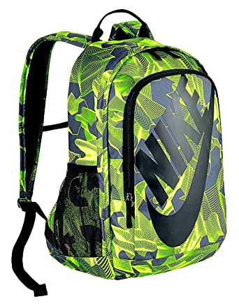 Nike Hayward Futura 2.0 Print Laptop Backpack STUDENT School Bag (Black  Volt) 33075b68383ae