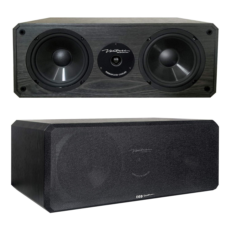 Bic America DV-62CLRS 6-Inch 2-Way Center Channel Speaker DV62CLR-S