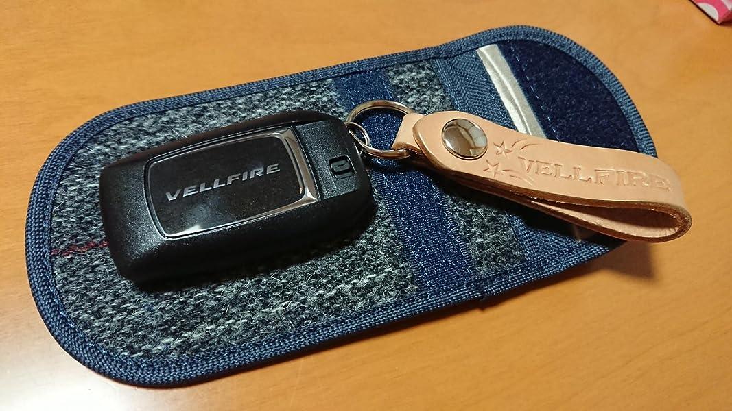 電波遮断ポーチ-リレーアタックによる車の盗難防止-Dstperカーセキュリティ-ブロッキングポーチ-スキミング防止