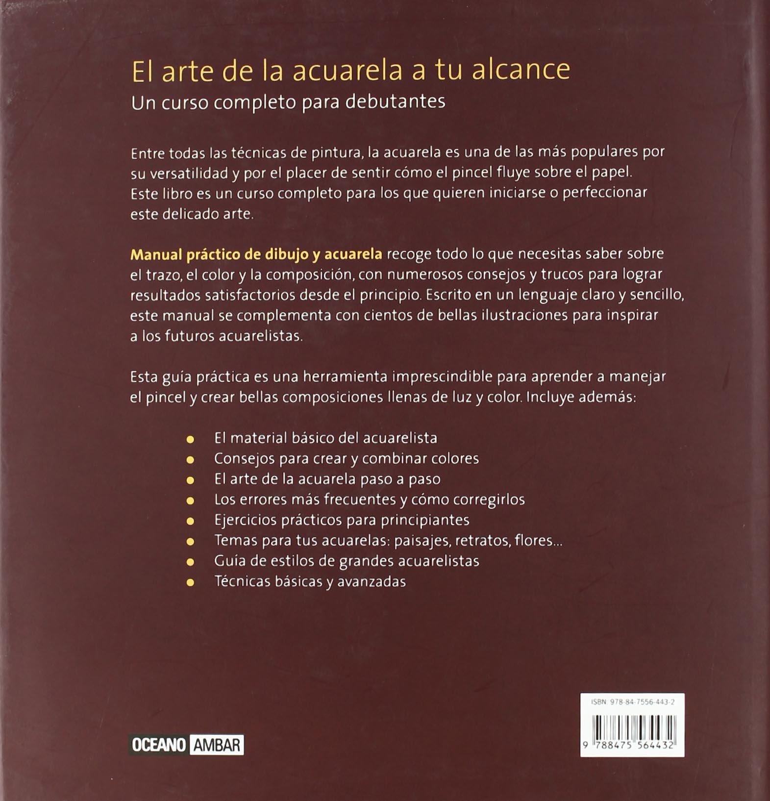 Manual práctico de dibujo y acuarela: Un curso completo para debutantes Tiempo libre: Amazon.es: Paula Leiva: Libros