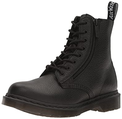 Women's Pascal With Zip Combat Boot
