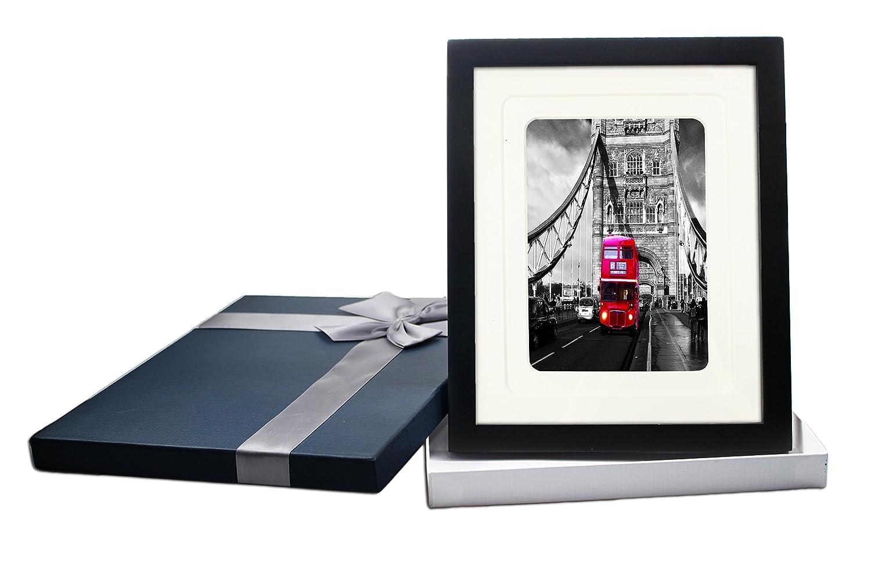 Amazon.de: 8 x 10 schwarz Bilderrahmen Made To Bilder 5 x 7 und 6 x ...
