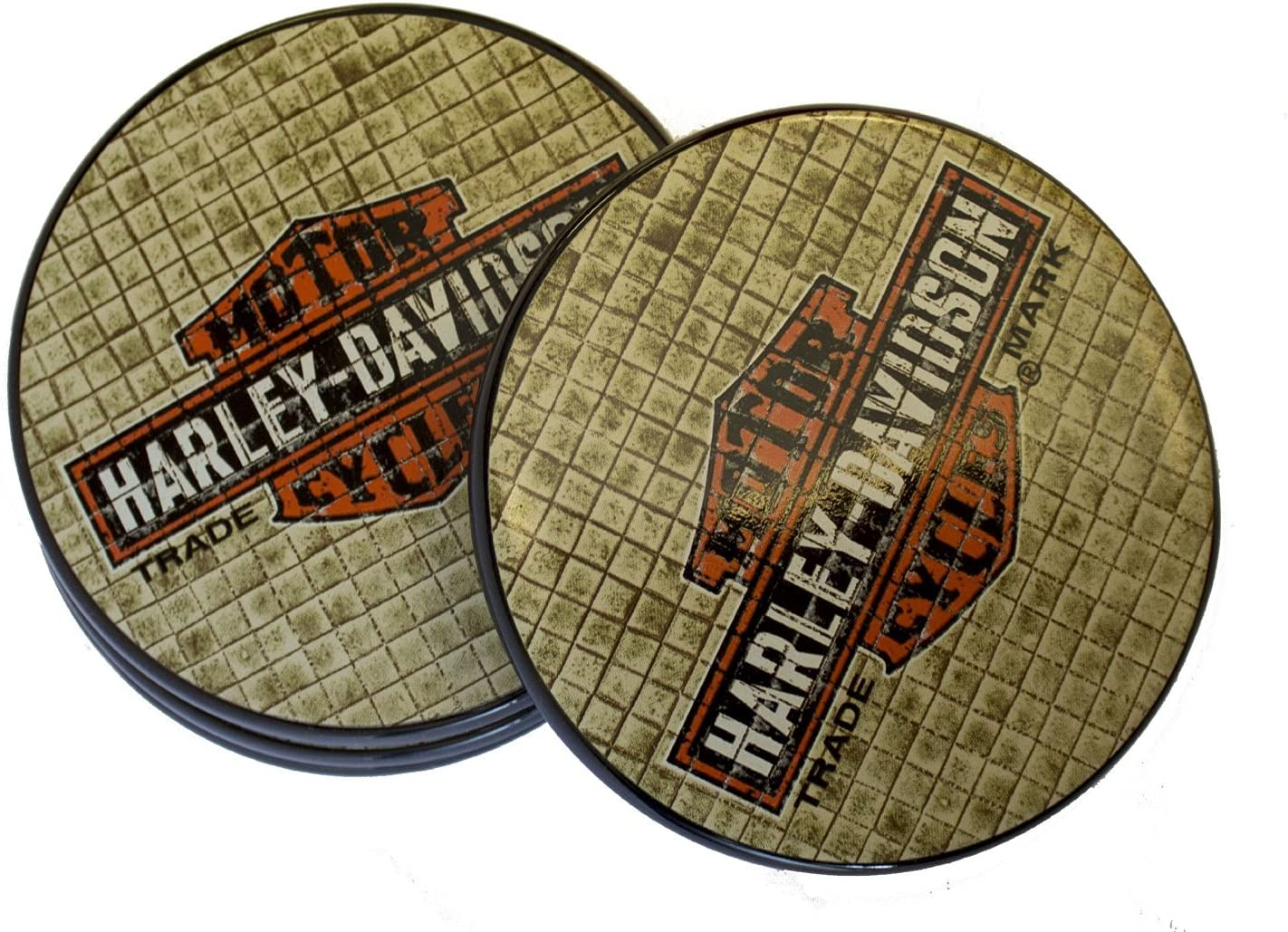 Knoxville Official Ceramic Car Coasters The Memory Company NCAA University of Tennessee 2 Pack One Size Multicolor
