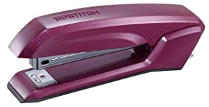 Bostitch Office B210R-MAG Ascend 3 in 1 Stapler with Integrated Remover & Staple Storage, Purple (B210-MAG)