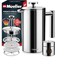 Deals on Mueller French Press Double Insulated Coffee Maker