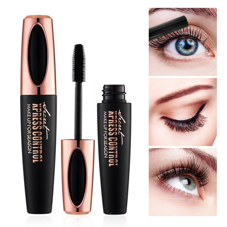 Amazon 4d Silk Fiber Lash Mascara Waterproof Makeup Eyelash