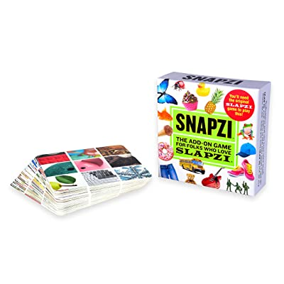 TENZI SNAPZI - The Add-On Party Card Game for Folks Who Love SLAPZI - 2-10 Players - Ages 8-98: Toys & Games