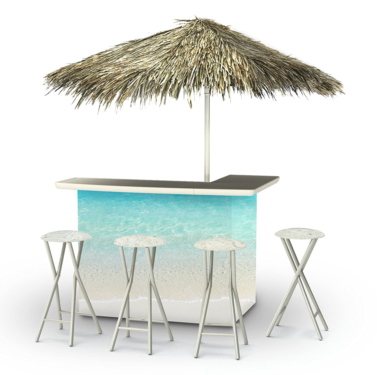 Best of Times 2003W2305P Sand BAR-PALAPA, One Size, Blue